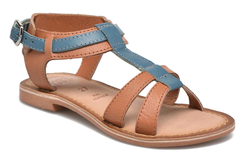 Sandales et nu-pieds Gioseppo Tulipe Marron vue détail/paire