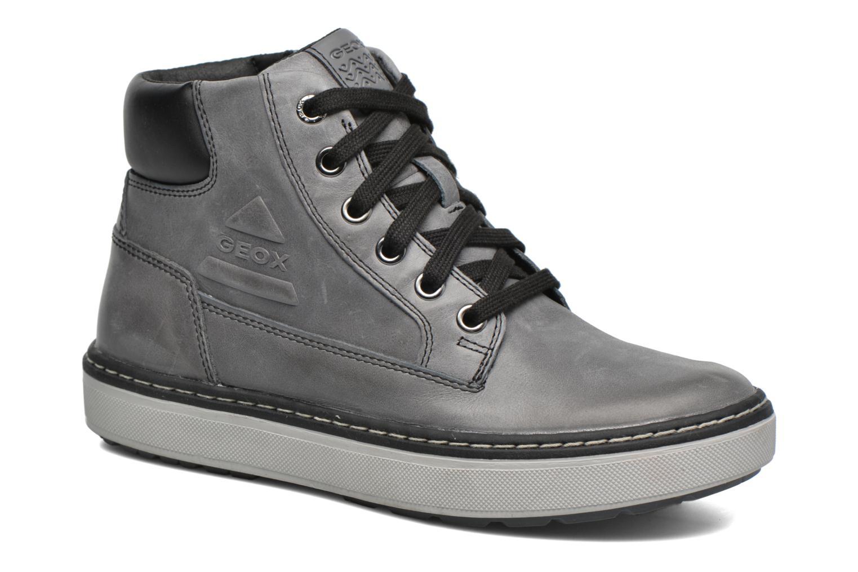 Bottines et boots Geox J Mattias Boy J540ED Gris vue détail/paire
