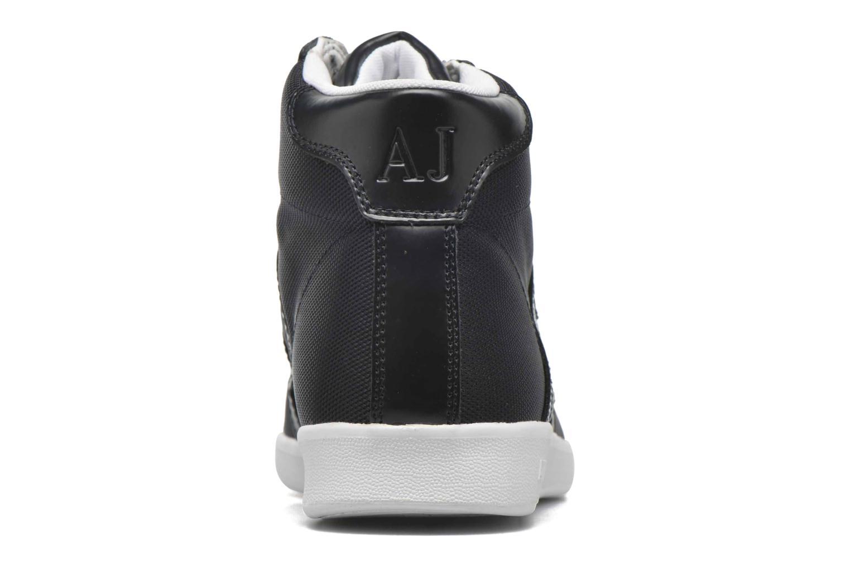 Sneakers Armani Jeans Alessandro Blå Bild från höger sidan