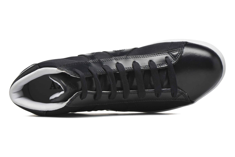 Sneakers Armani Jeans Alessandro Blå bild från vänster sidan