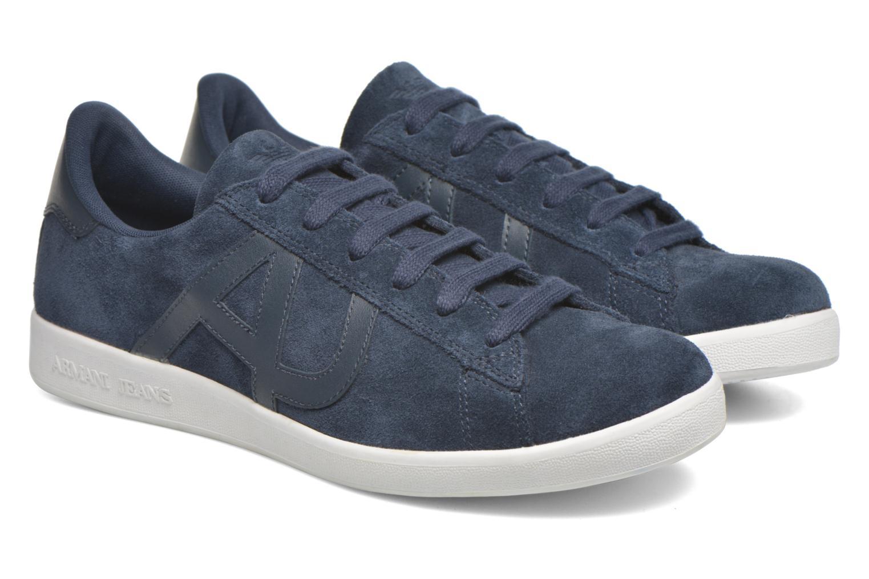 Sneakers Armani Jeans Lucas Blå 3/4 bild