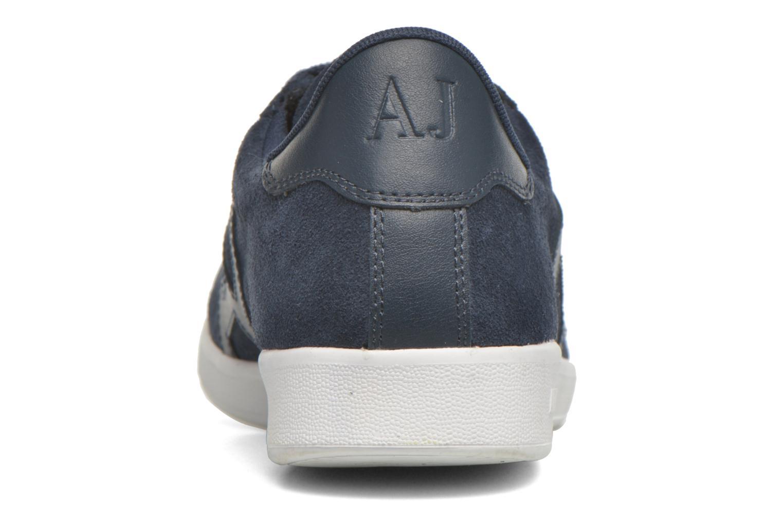Sneakers Armani Jeans Lucas Blå Bild från höger sidan