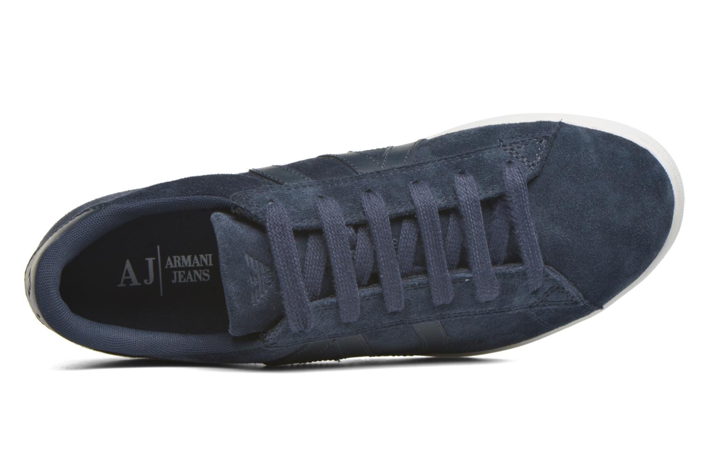 Sneakers Armani Jeans Lucas Blå bild från vänster sidan