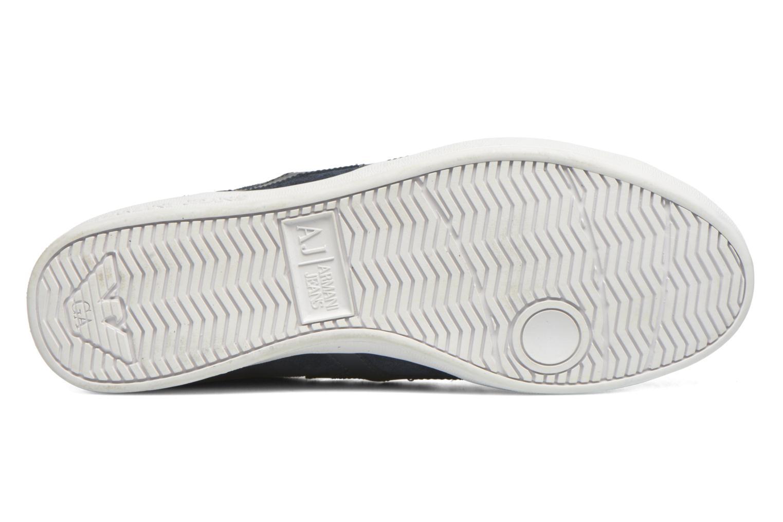 Sneakers Armani Jeans Lucas Blå bild från ovan
