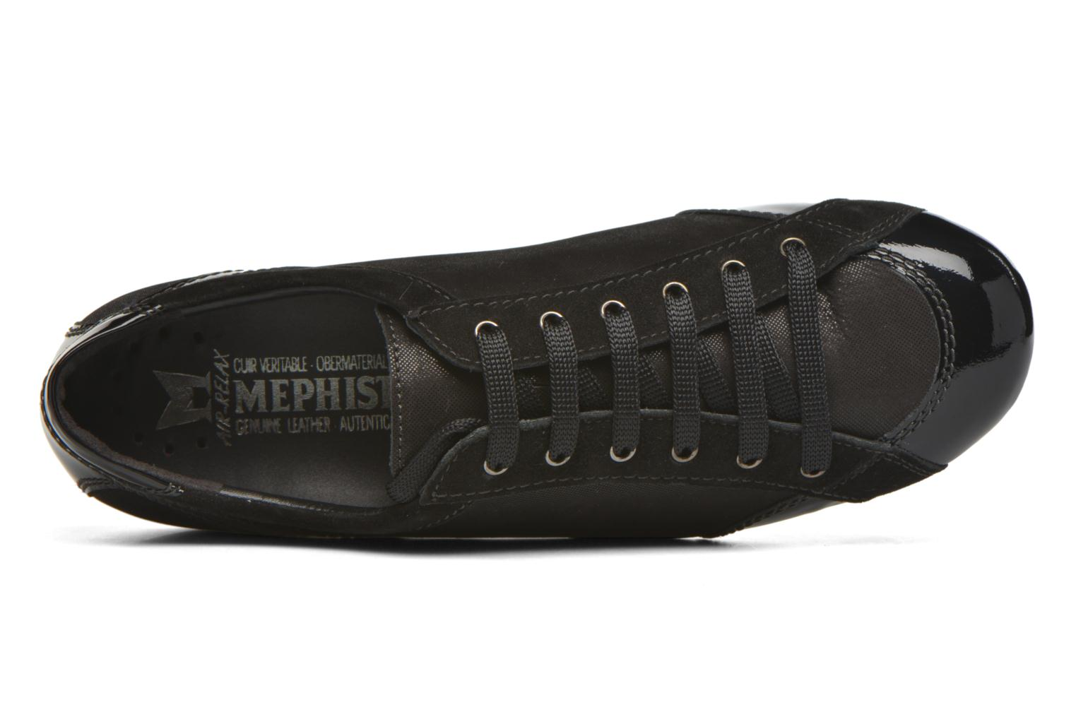 Trainers Mephisto Bernie Black view from the left