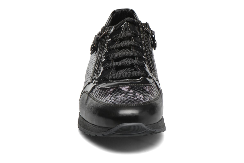 Baskets Mephisto Nona Noir vue portées chaussures