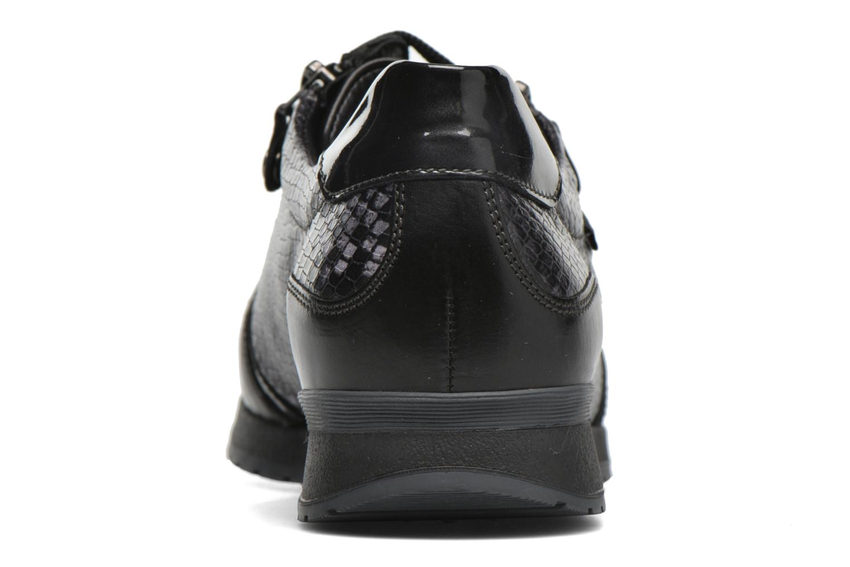 Baskets Mephisto Nona Noir vue droite
