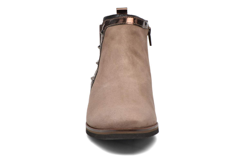 Bottines et boots Mephisto Paulita Marron vue portées chaussures