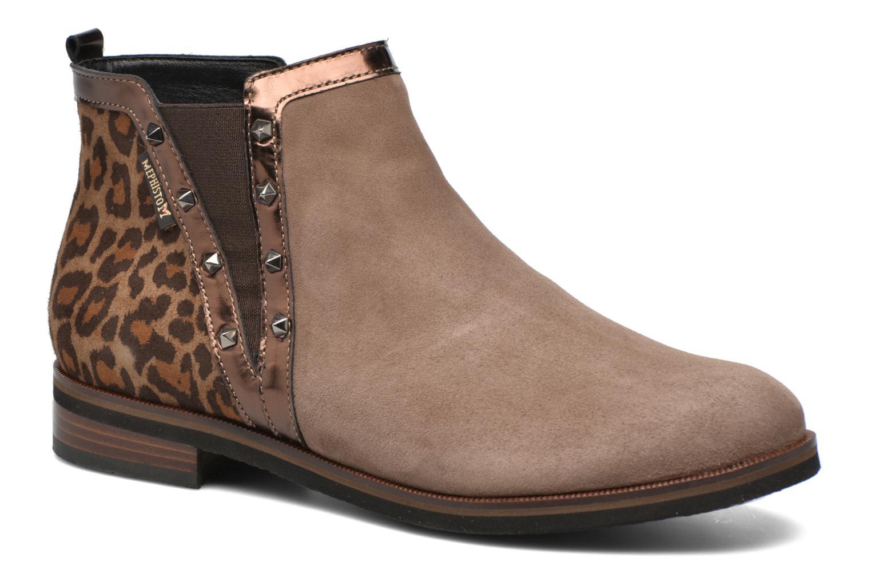 Bottines et boots Mephisto Paulita Marron vue détail/paire