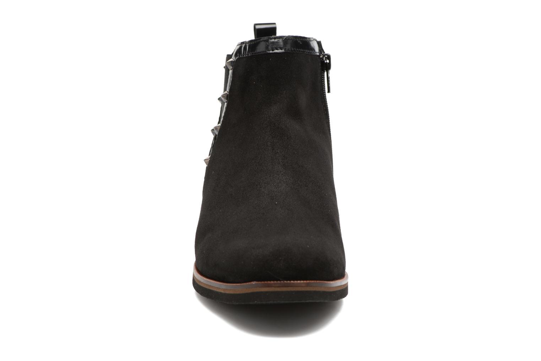 Bottines et boots Mephisto Paulita Noir vue portées chaussures