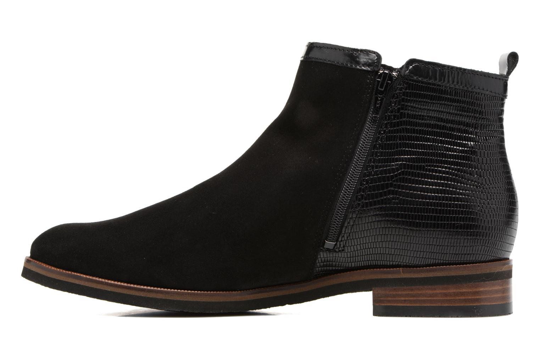 Bottines et boots Mephisto Paulita Noir vue face