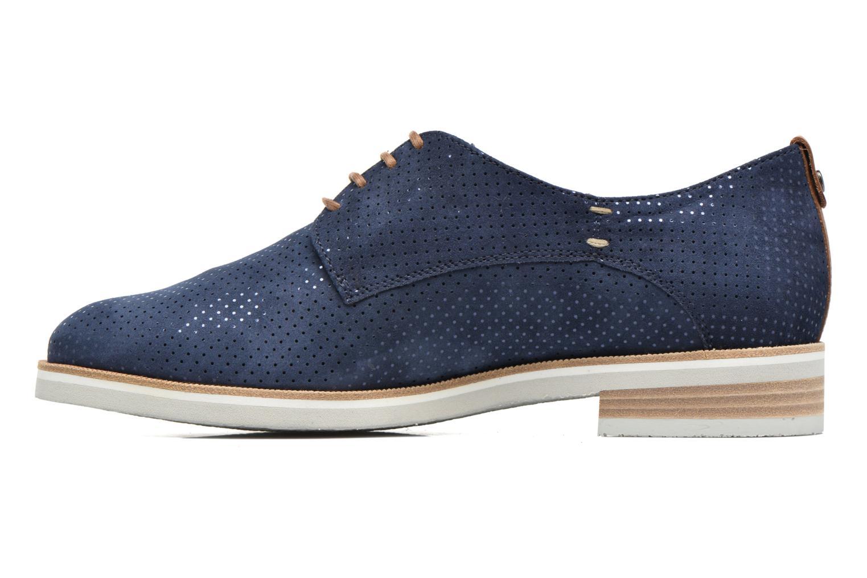 Chaussures à lacets Mephisto Poppy Bleu vue face