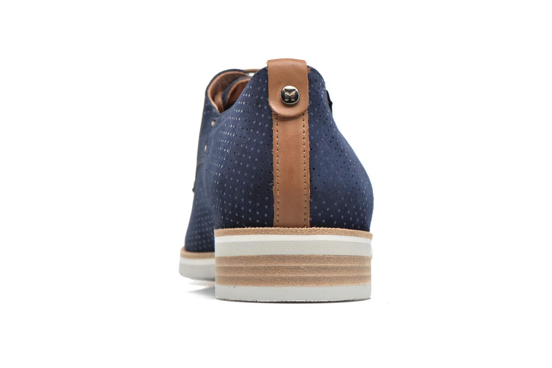 Chaussures à lacets Mephisto Poppy Bleu vue droite