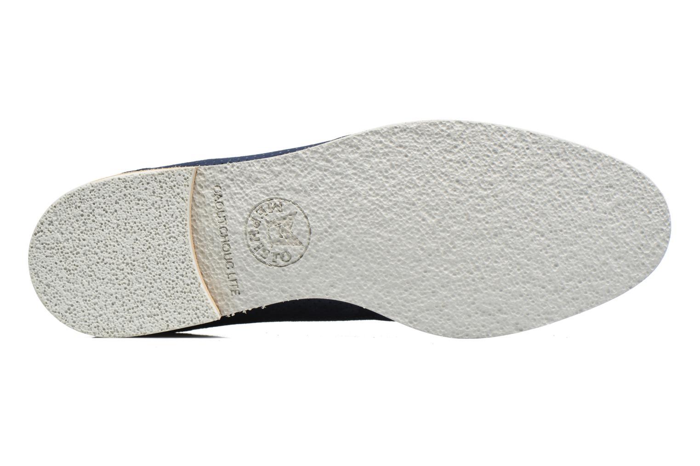 Chaussures à lacets Mephisto Poppy Bleu vue haut