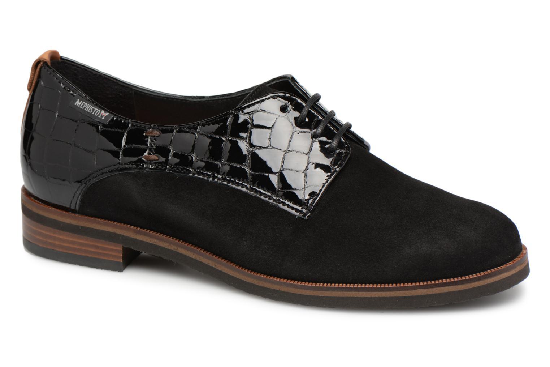 Grandes descuentos últimos zapatos Mephisto Poppy (Negro) - Zapatos con cordones Descuento