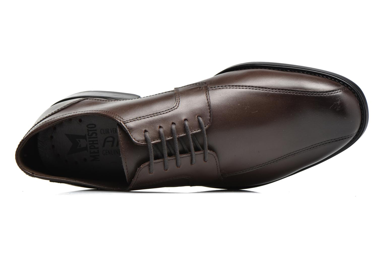 Chaussures à lacets Mephisto Connor Marron vue gauche