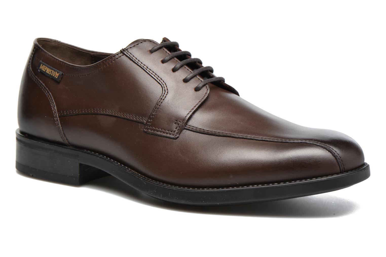 Chaussures à lacets Mephisto Connor Marron vue détail/paire