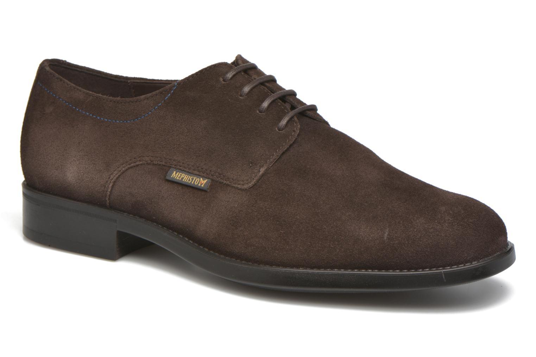 Chaussures à lacets Mephisto Cooper Marron vue détail/paire