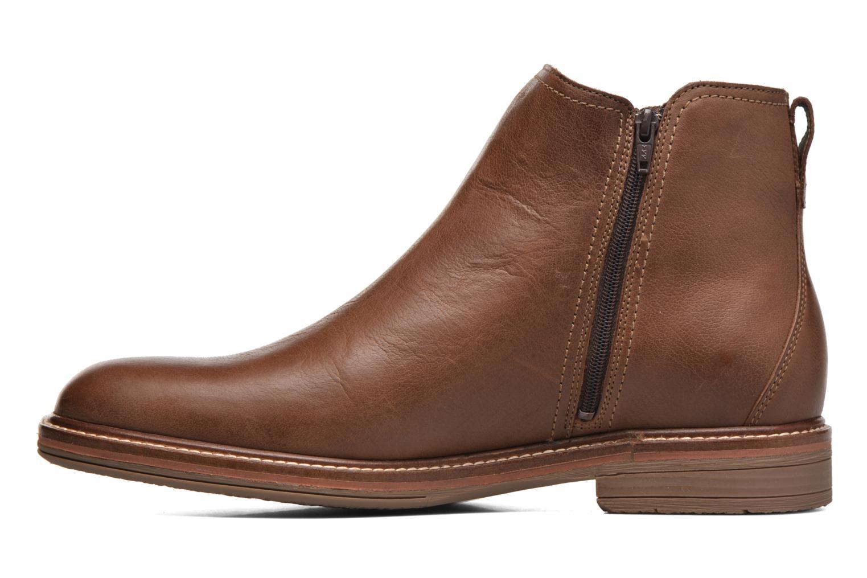 Bottines et boots Mephisto Willem Marron vue face