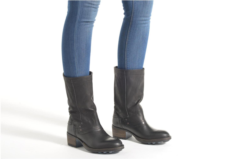 Bottines et boots P-L-D-M By Palladium Capper CML Noir vue bas / vue portée sac