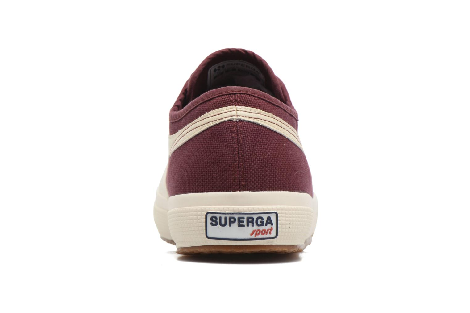 Trainers Superga 2750 Cotu Panatta Red view from the right