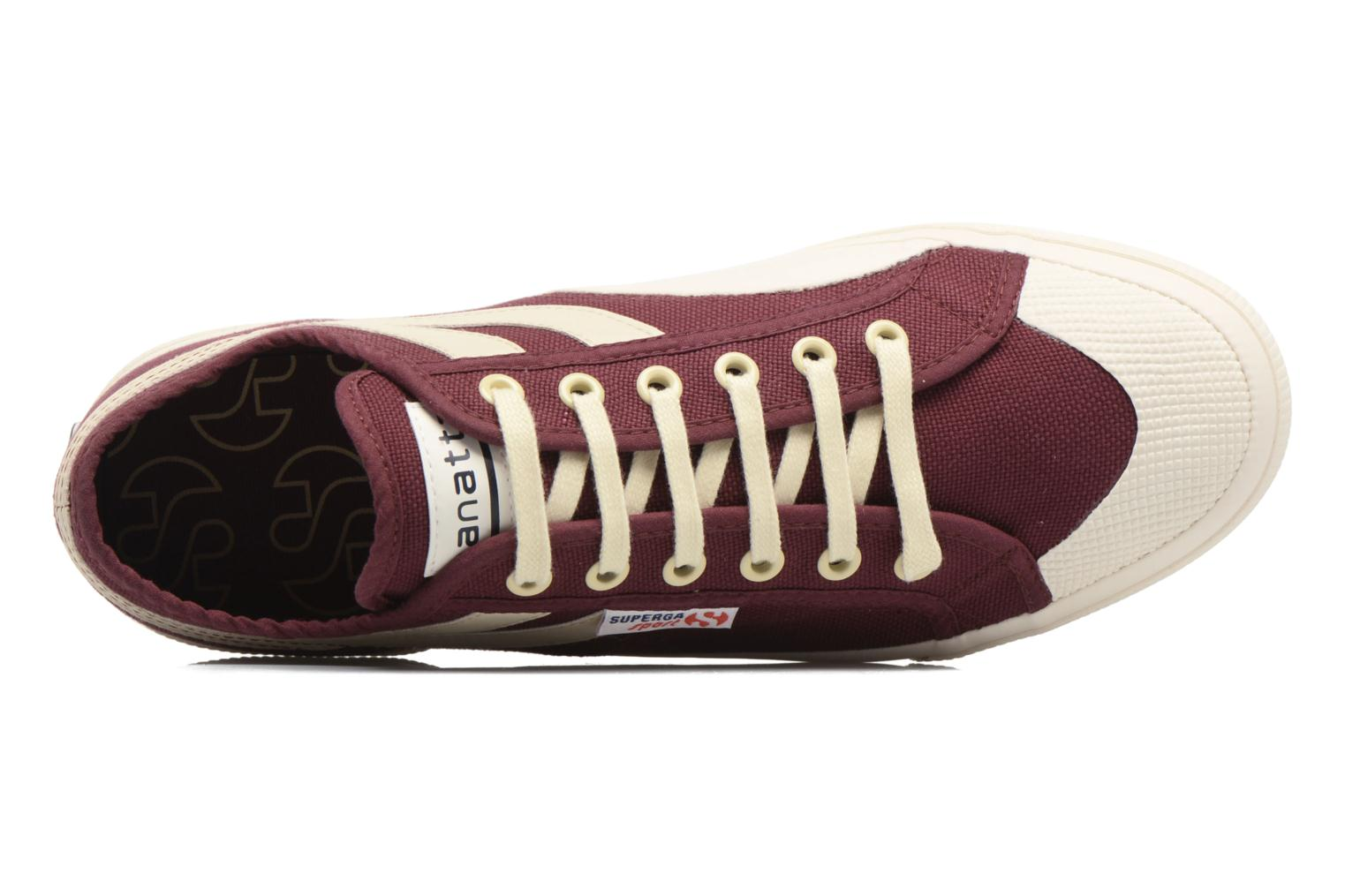 Trainers Superga 2750 Cotu Panatta Red view from the left