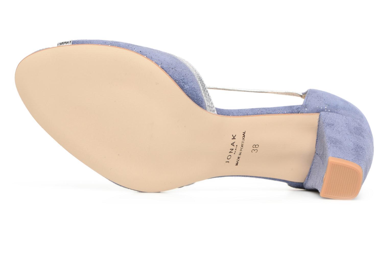 Zapatos de tacón Jonak Damaris Azul vista de arriba