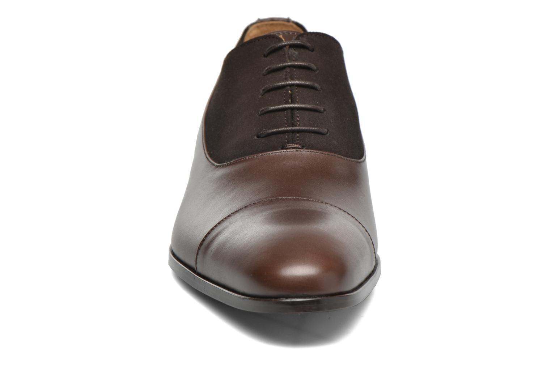Chaussures à lacets Finsbury Jerico Marron vue portées chaussures