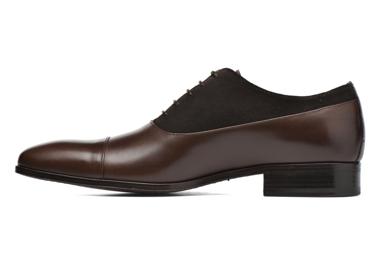 Chaussures à lacets Finsbury Jerico Marron vue face