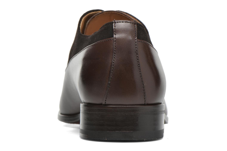Chaussures à lacets Finsbury Jerico Marron vue droite