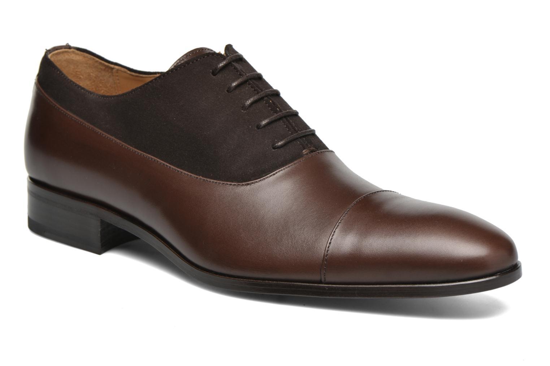 Chaussures à lacets Finsbury Jerico Marron vue détail/paire