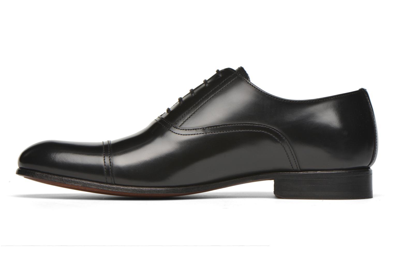 Chaussures à lacets Finsbury Livio Noir vue face