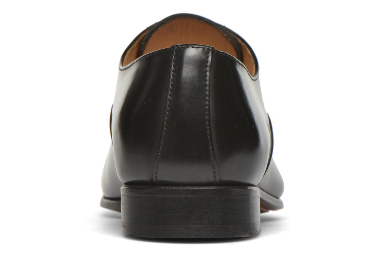 Chaussures à lacets Finsbury Livio Noir vue droite
