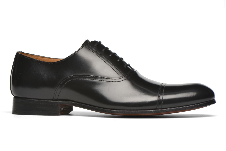 Chaussures à lacets Finsbury Livio Noir vue derrière