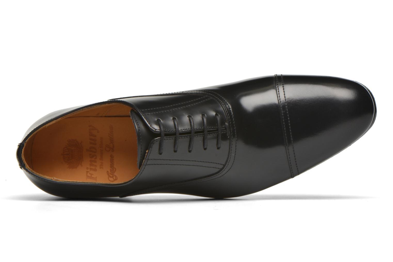 Chaussures à lacets Finsbury Livio Noir vue gauche