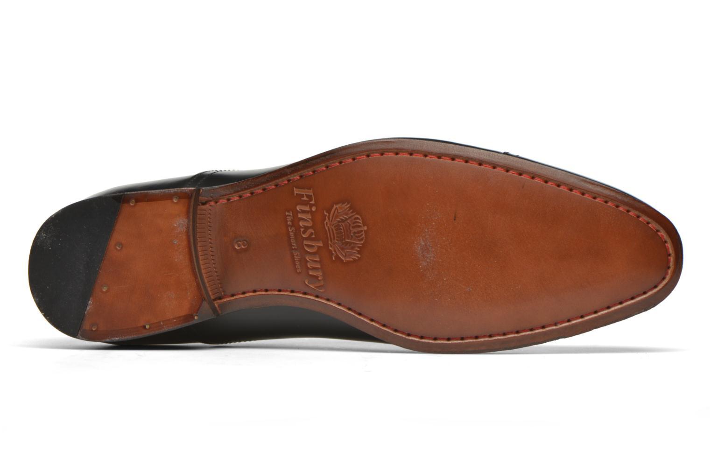 Chaussures à lacets Finsbury Livio Noir vue haut