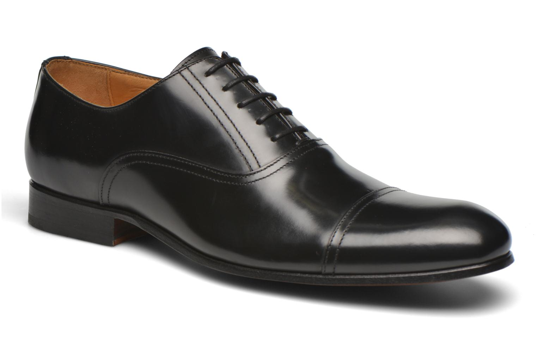 Chaussures à lacets Finsbury Livio Noir vue détail/paire