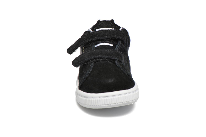 Baskets Puma Inf Suede Batman V / Ps Suede Batman.Limoge Noir vue portées chaussures