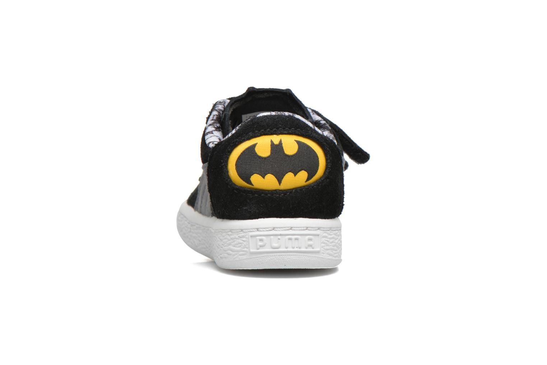 Baskets Puma Inf Suede Batman V / Ps Suede Batman.Limoge Noir vue droite