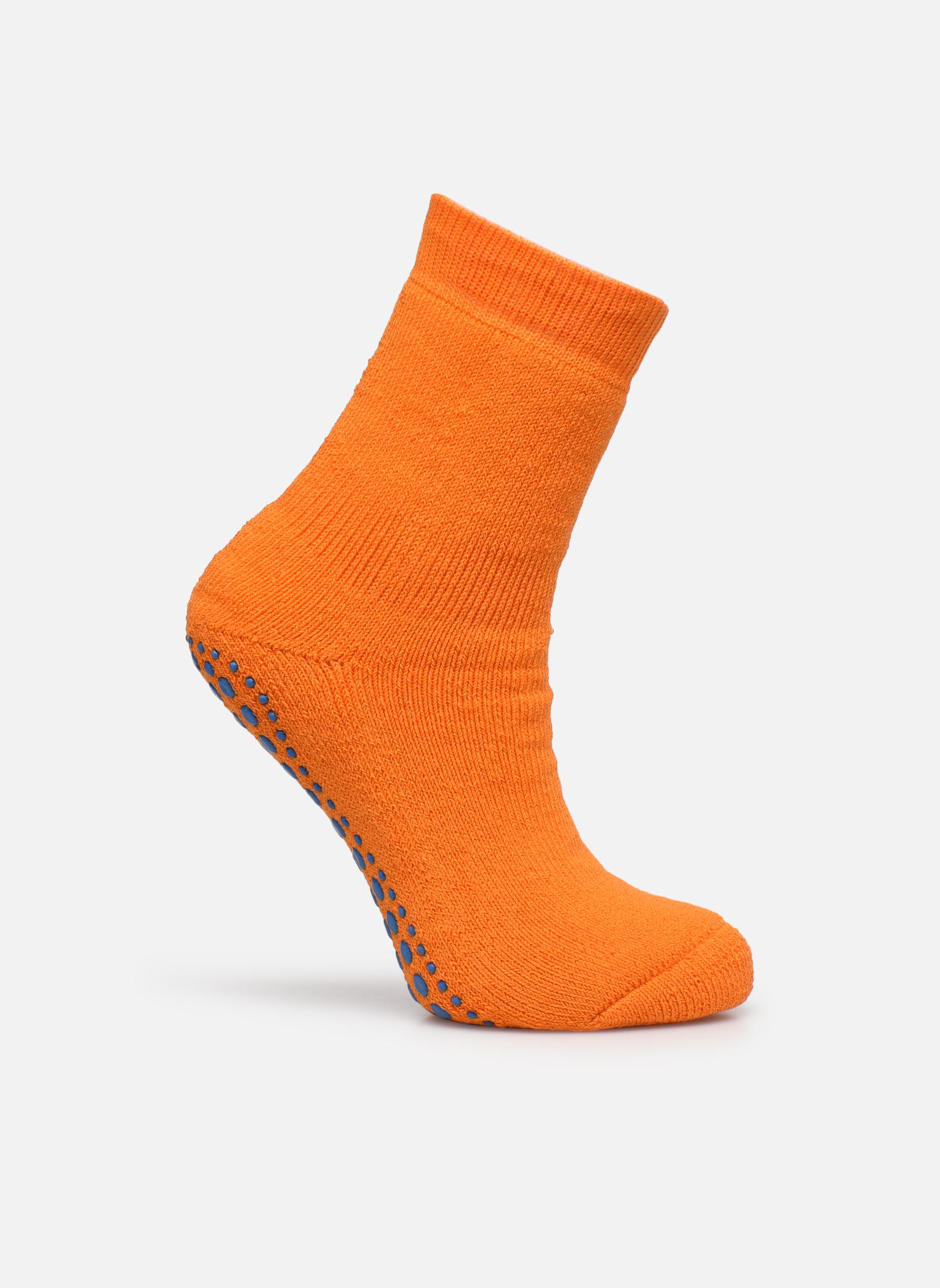 Sokken en panty's Falke Chaussons-chaussettes Catspads Oranje detail