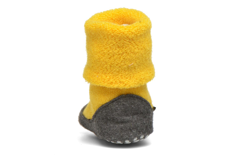 Chaussettes et collants Falke Chaussons-chaussettes Cosyshoes Jaune vue droite