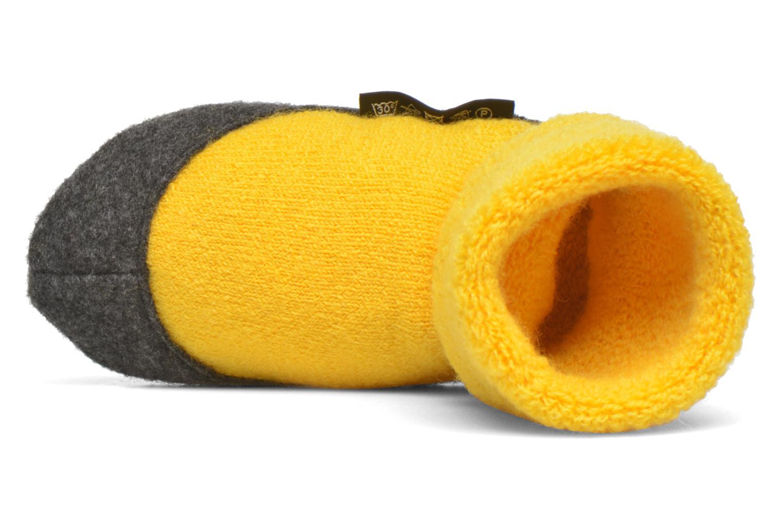 Chaussettes et collants Falke Chaussons-chaussettes Cosyshoes Jaune vue gauche