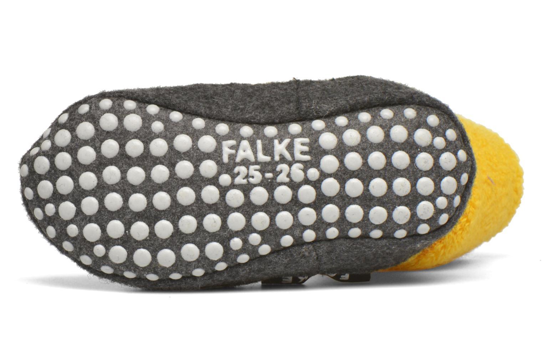 Chaussettes et collants Falke Chaussons-chaussettes Cosyshoes Jaune vue haut