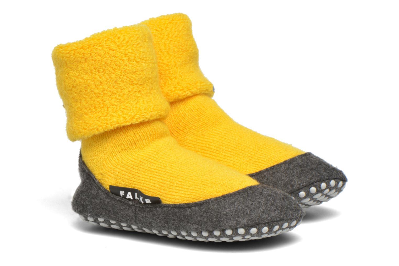 Chaussettes et collants Falke Chaussons-chaussettes Cosyshoes Jaune vue détail/paire