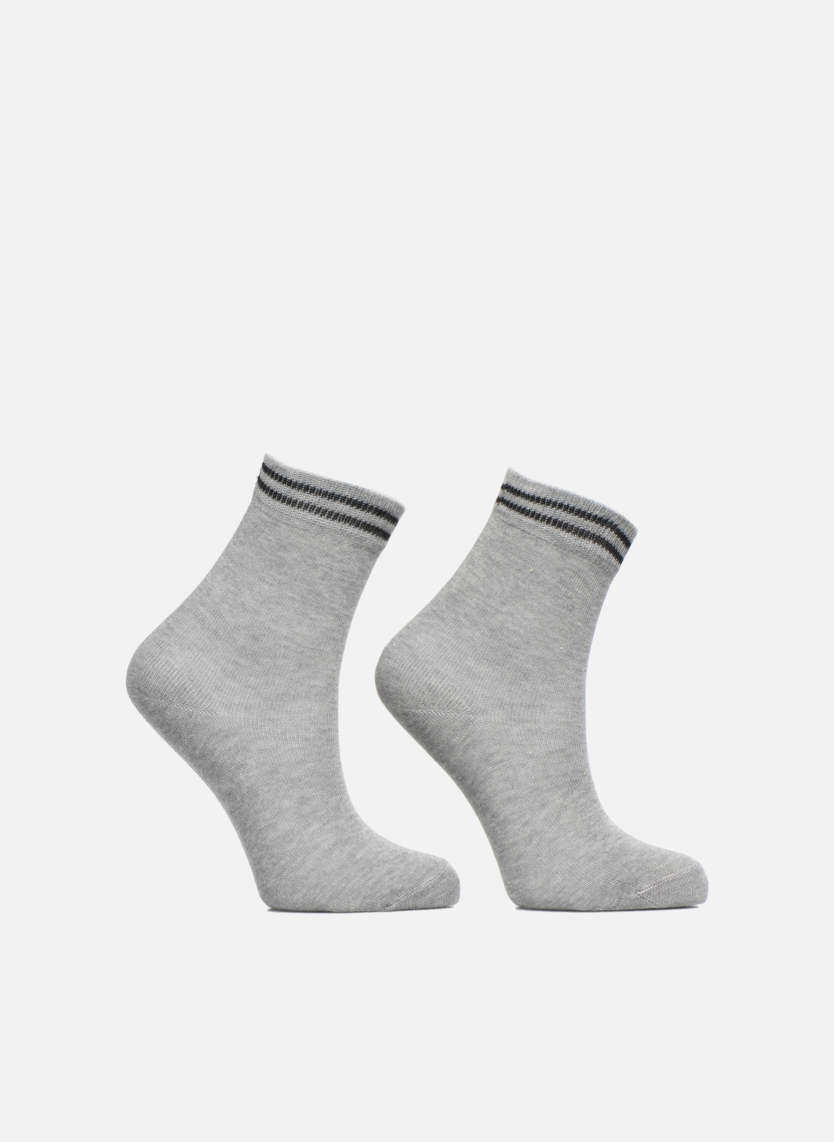 Socks & tights Falke Chaussettes 2 Friends Grey detailed view/ Pair view