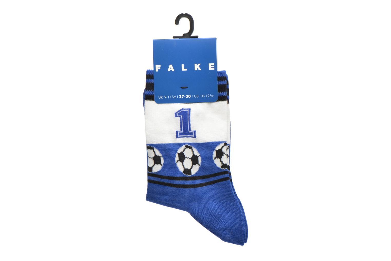 Strumpor och strumpbyxor Falke Chaussettes Soccer Blå bild från baksidan