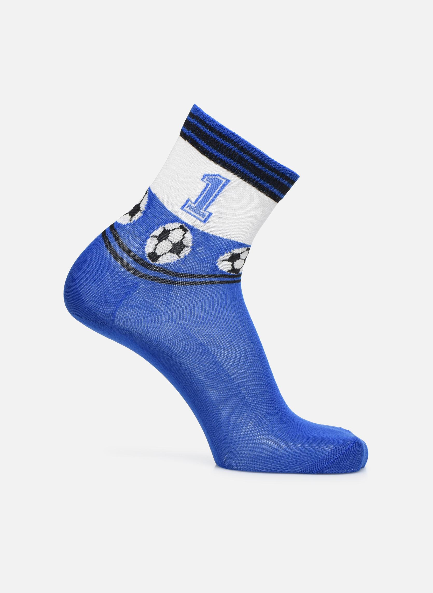 Chaussettes et collants Falke Chaussettes Soccer Bleu vue détail/paire