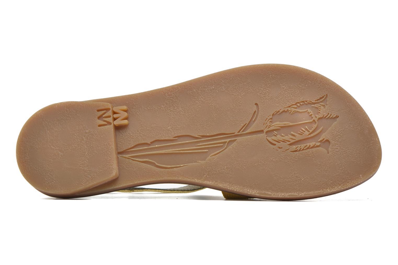 Sandales et nu-pieds El Naturalista Tulip NF35 Jaune vue haut