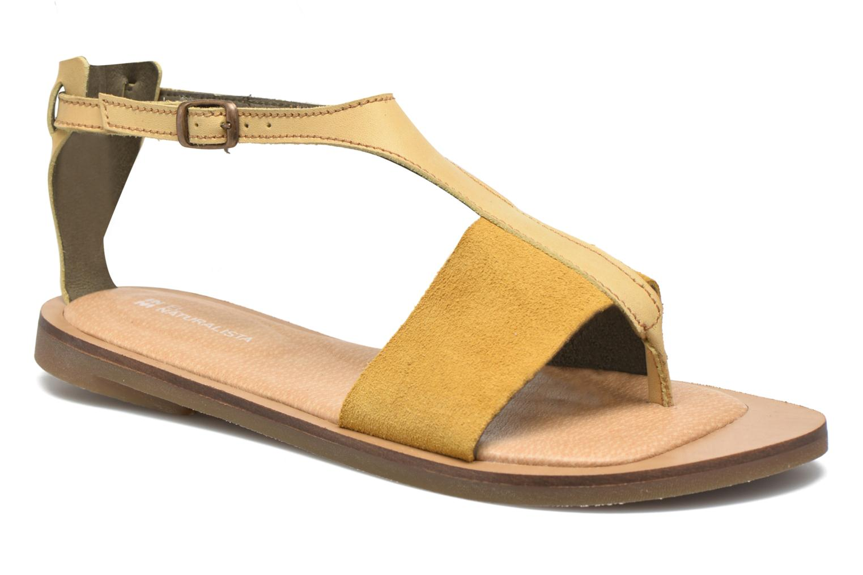 Sandales et nu-pieds El Naturalista Tulip NF35 Jaune vue détail/paire