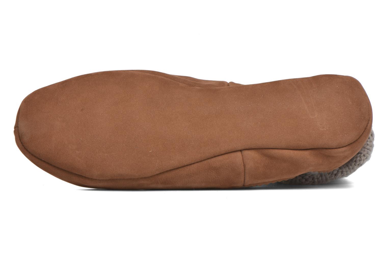 Chaussettes et collants Falke Chaussons-chaussettes Cottage Socke Beige vue haut